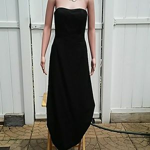 Jessica McClintock strapless long down size 8